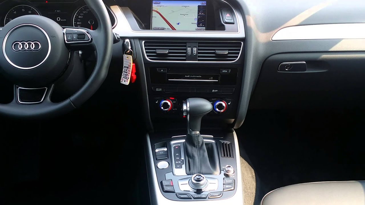 2015 audi a4 4dr sdn auto quattro 2.0t premium plus 4 door car