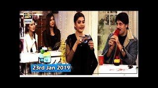 Good Morning Pakistan - Sadaf Umair & Tipu Sharif - 23rd January 2019 - ARY Digital Show