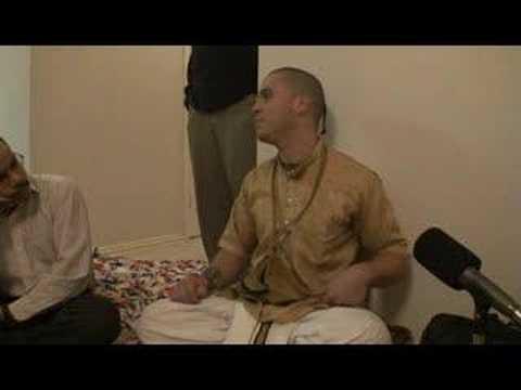 """Bhagavad Gita class - """"Material Nature"""" - Nityananda Chandra"""