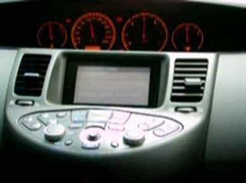 nissan primera p12 настройка радио