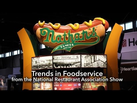 Trends In Foodservice From The National Restaurant Association Show