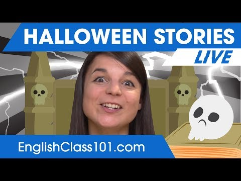 Halloween Stories (You're not ready💀) - Learn English 🔴