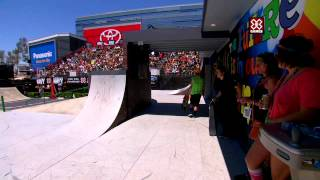 X Games Los Angeles 2012: Alexis Sablone wins Women's Skateboard Street