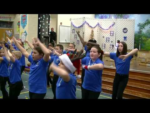 Feliz Navidad 2017 J C Lynch Elementary School
