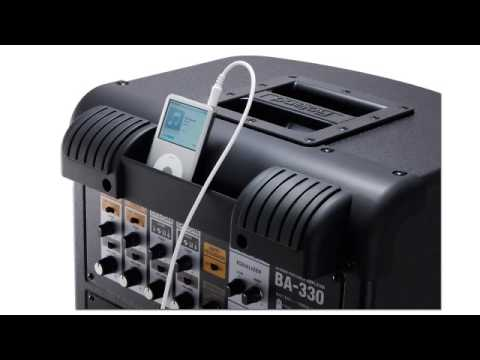 BA-330 Portable Stereo Digital PA System