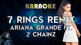 Ariana Grande - 7 rings remix (Karaoke Instrumental) feat 2 Chainz Video