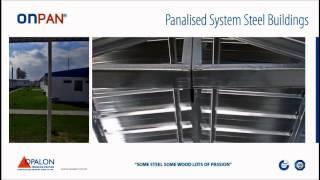 OPALON الجاهزة الحاويات الهيكل الصلب وحدات بناء ONPAN