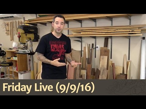 Friday Live (9/9/16) – Woodworking Forums, Scrap Wood, Back to Basics with Reclaimed Wood