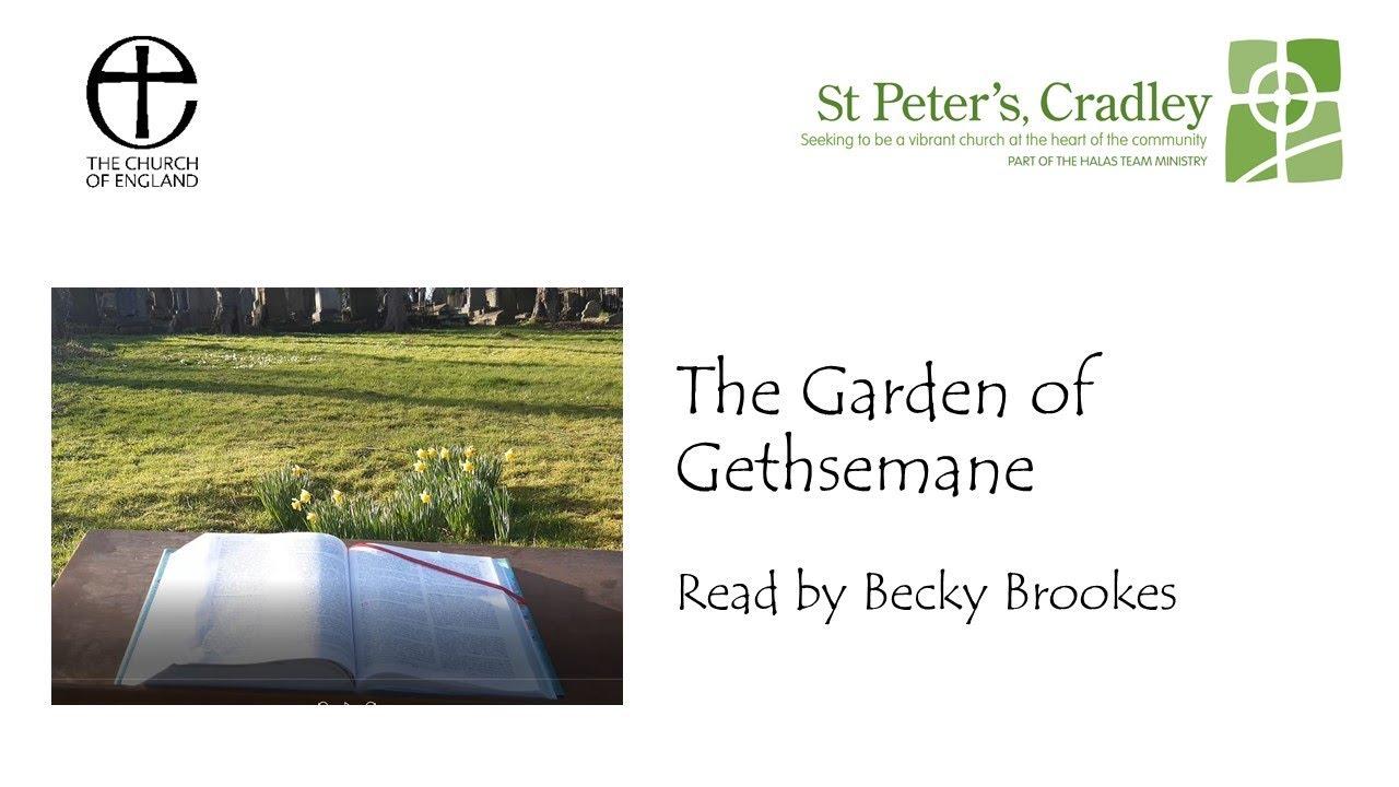 Station 2 The Garden of Gethsemane