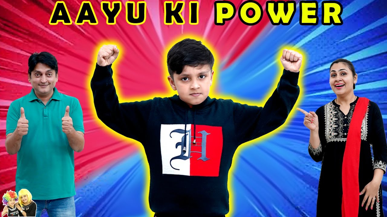 AAYU KI POWER | A Short movie on healthy eating habits | Aayu and Pihu Show