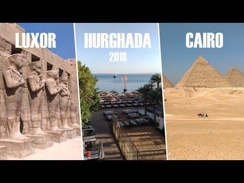 Hurghada / Luxor / Cairo (winter-spring Holiday, Egypt, 2018)