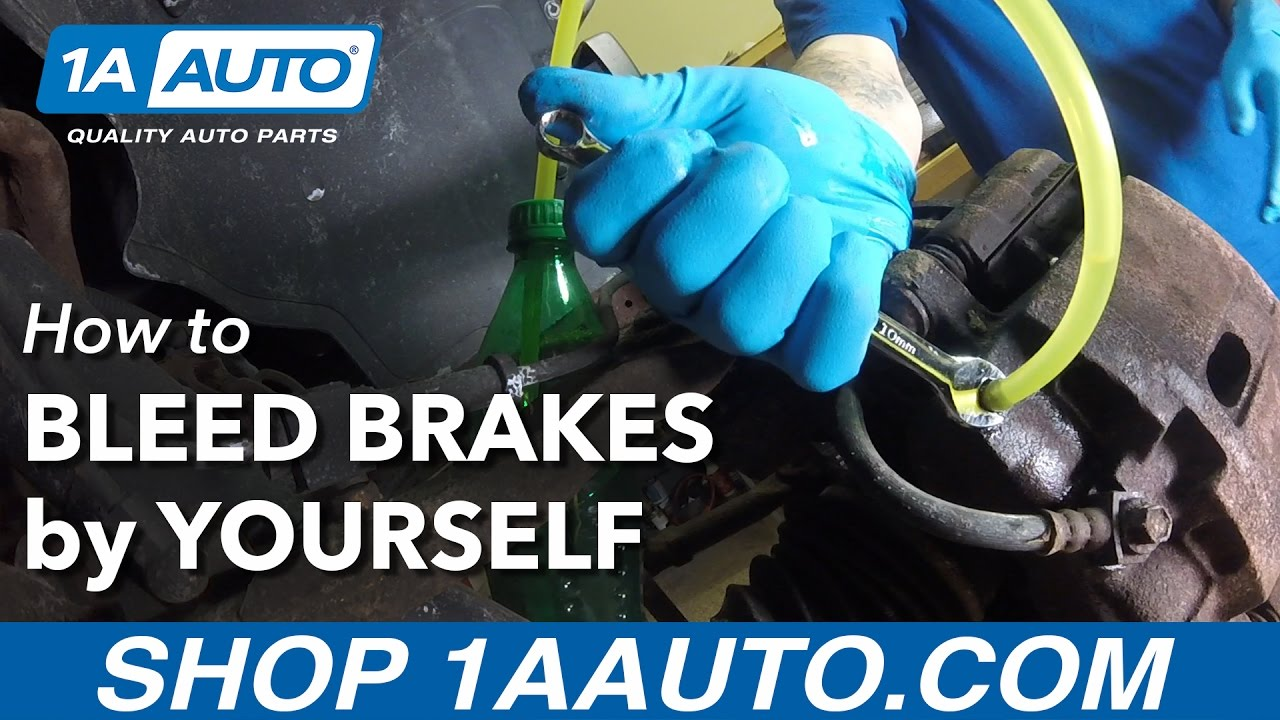 How Do You Bleed Brakes >> How To Bleed Your Brakes By Yourself Youtube