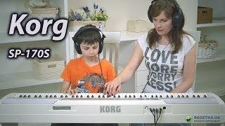 Korg SP-170S: огляд цифрового піаніно
