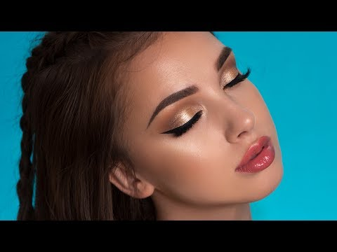 Soft Summer Glam Makeup Tutorial | Too Faced Natural Love Palette