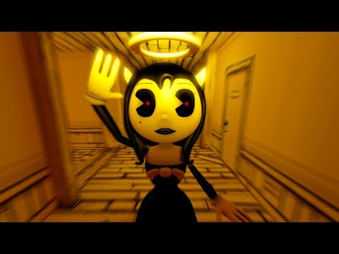 DON'T TRUST ALICE ANGEL! | Bendy And The Ink Machine Chapter 3 Reese's Story
