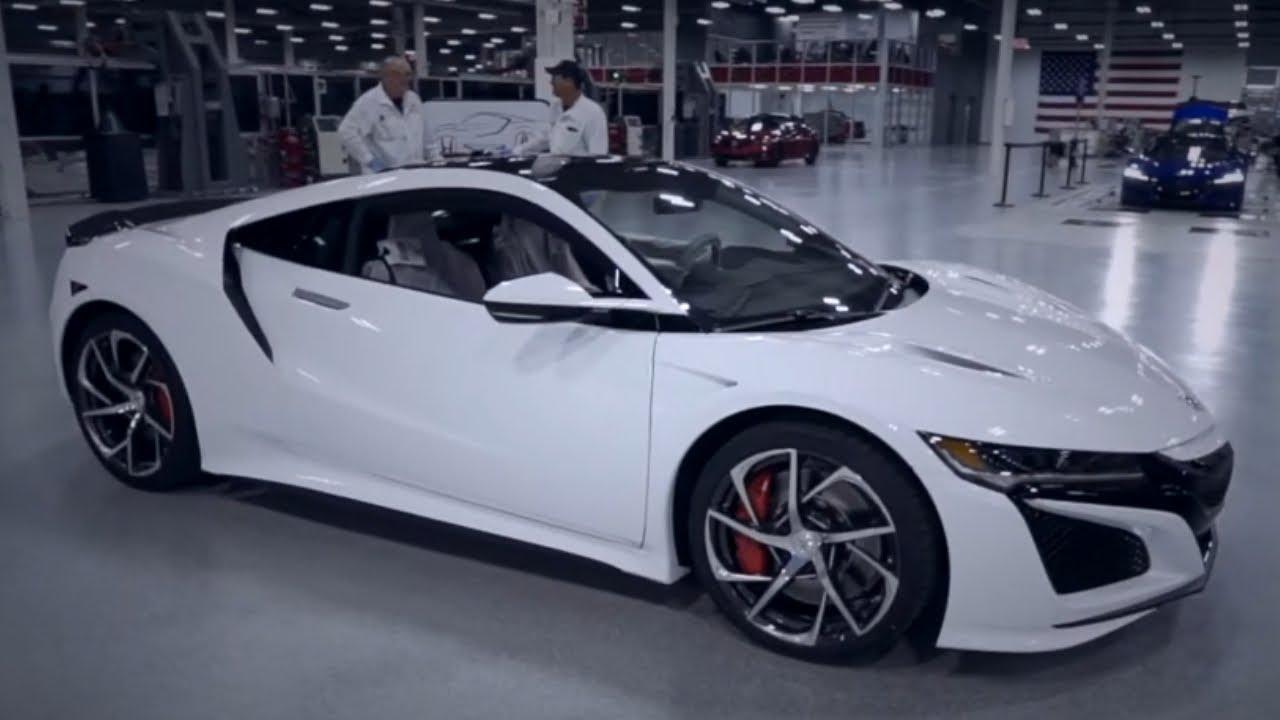 2020 Honda Acura Nsx Type R Manufacturing