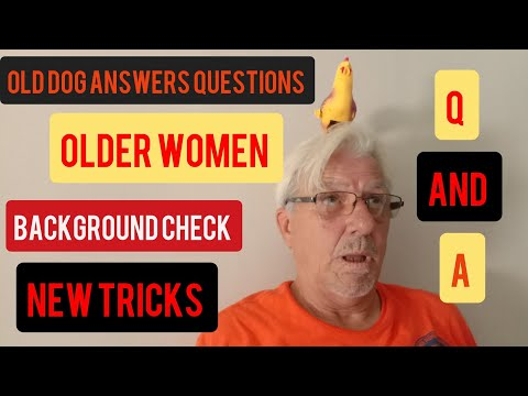 Old Dog Answers Questions About Older Women, Personal Information, and New Tricks on the Horizon