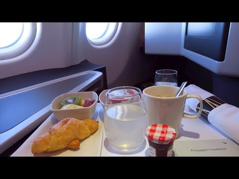 Cathay Pacific Airbus A330-300 Lie-flat Business Class Hong