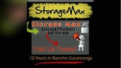 Storage Facilities in Rancho Cucamonga