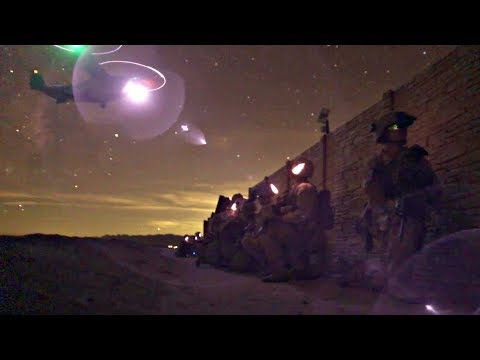 Marines Conduct Low-Light Air Assault Exercise During Weapons And Tactics Instructors Course