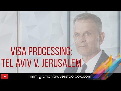 (CLIP) U.S. Visa Processing In Israel: Tel Aviv V. Jerusalem