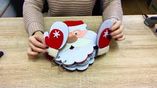 Christmas Quiet Book/Felt Book/Busy Book for Children (Didi Craft - Quiet Books)