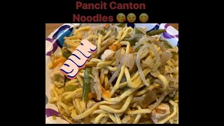 Quick and Easy Pancit Canton Noodles