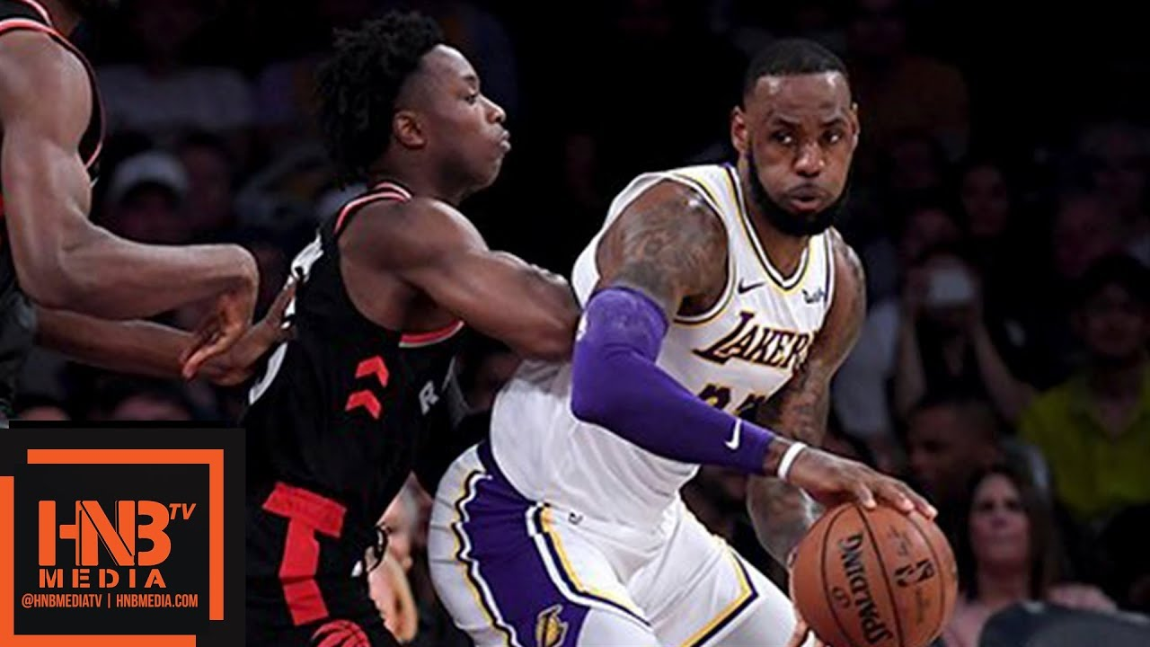 Lakers Vs Raptors Detail: Los Angeles Lakers Vs Toronto Raptors Full Game Highlights