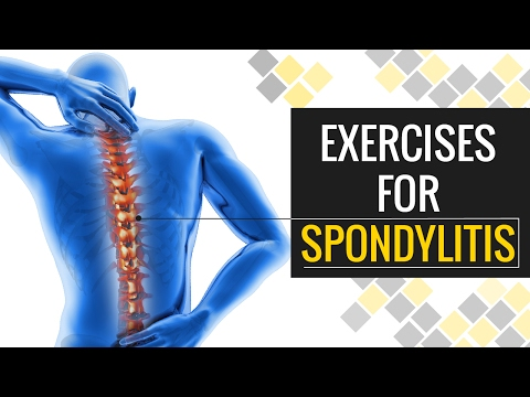 Simple Exercises #01 - Steps to Get Relieve from Spondylitis and Neck Pain