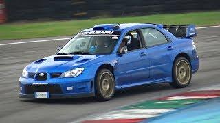 We Took the Subaru Impreza S12 WRC Replica @ Track! - ONBOARD Straight Pipe BOXER Sounds!