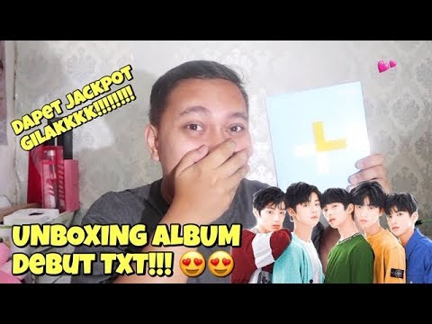 TXT ALBUM THE DREAM CHAPTER STAR UNBOXING Bahasa Indonesia