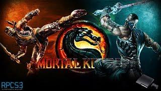 Mortal Kombat - RPCS3 TEST 2 (InGame / Low FPS / Bad Sound)