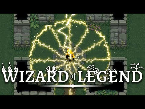 Wizard of Legend - Full Lightning Arcana Only Run