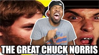 [ REACTION ] Abe Lincoln vs Chuck Norris Epic Rap Battles of History‼ Plus Behind The Scenes‼