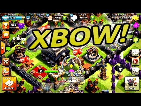 Clash Of Clans | XBOW UNLOCKED! +  LVL 105