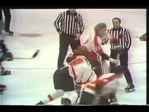 Blackhawks vs. Flyers Fights