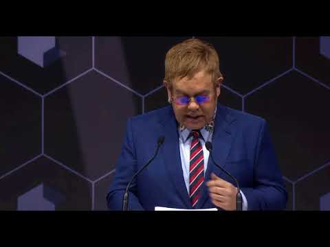 The 24th Annual Crystal Awards - Sir Elton John - Changing The World