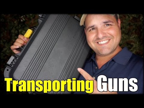 How to Transport Firearms