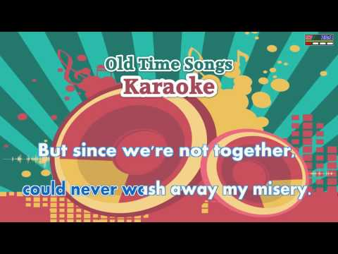 Crying In The Rain - The Everly Brothers (MIDI Karaoke)