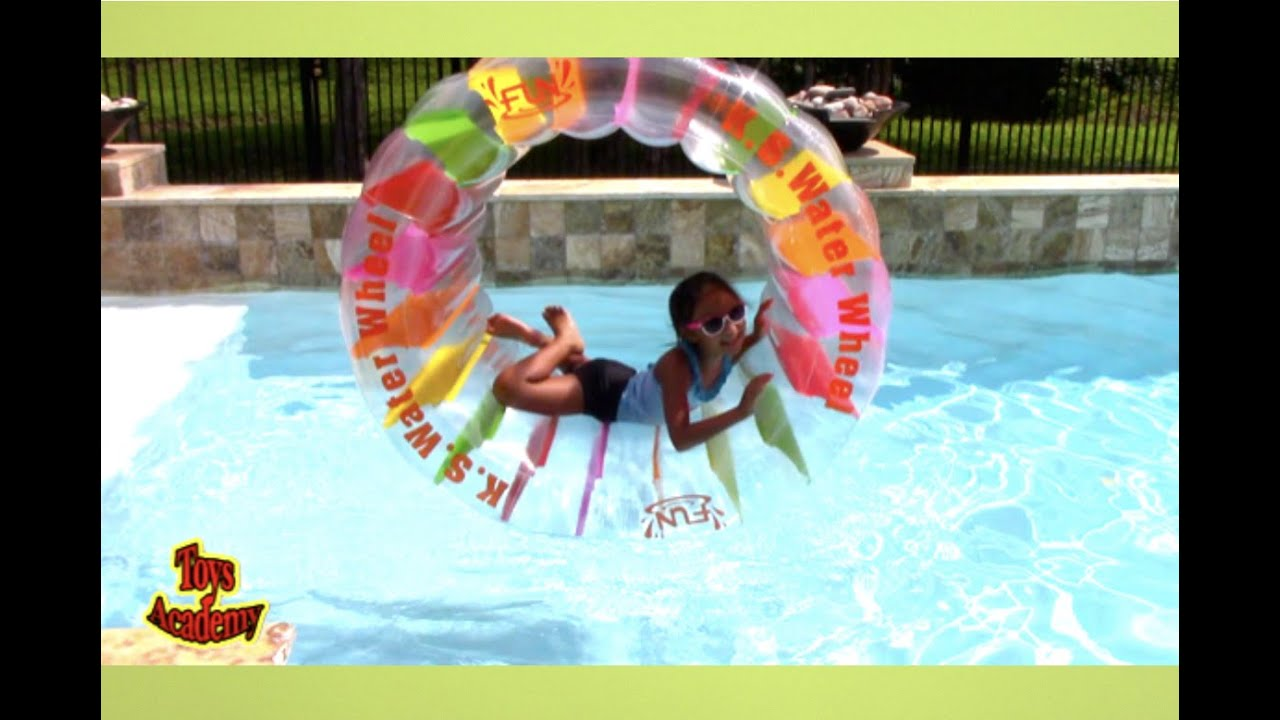Water Wheel Pool Float by Swimline for Above or In-Ground Swimming Pools