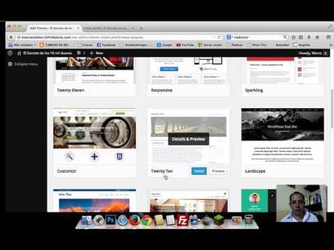 Como cambiar el tema o apariencia de tu blog personal de wordpress ...