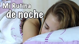 MI RUTINA DE NOCHE... ¡CON MI MADRE! | ItsJudith