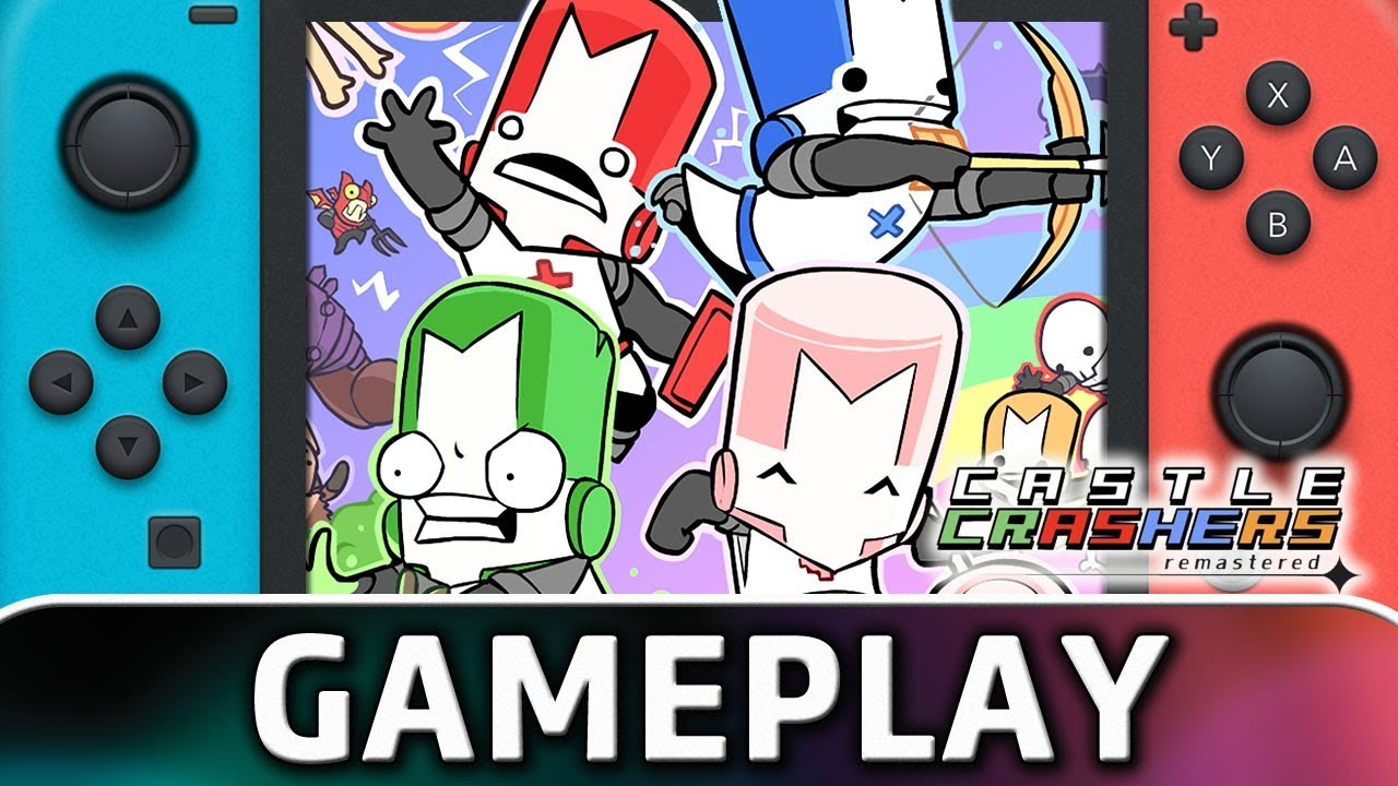 Castle Crashers Remastered | First 10 Minutes on Nintendo Switch