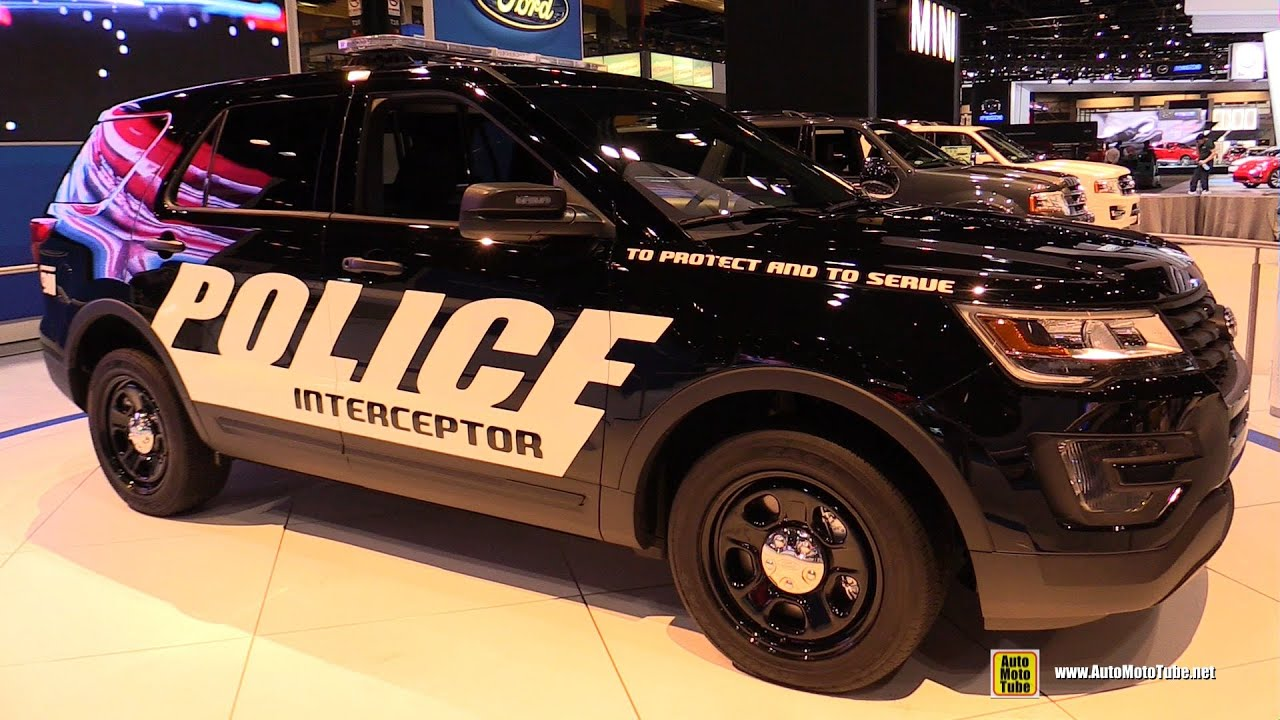 2015 ford explorer police interceptor exterior and interior walkaround 2015 chicago auto. Black Bedroom Furniture Sets. Home Design Ideas