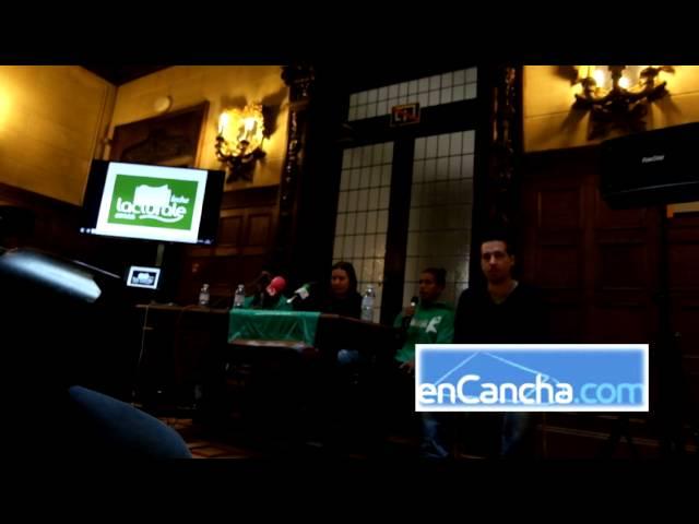 Presentación Margaret Roundtre y Roselis Silva. Lacturale Araski 20/09/2016