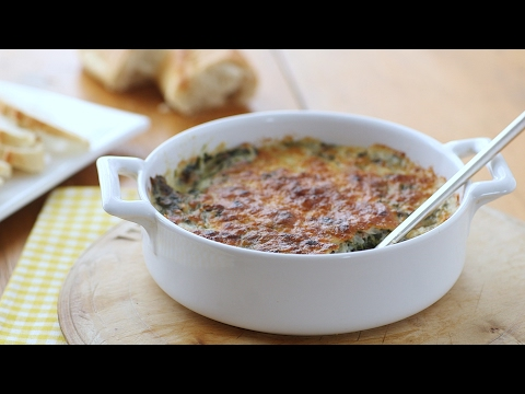 Hot Spinach Dip- Everyday Food With Sarah Carey