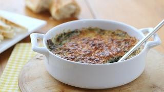 Hot Spinach Dip- Everyday Food with Sarah Carey