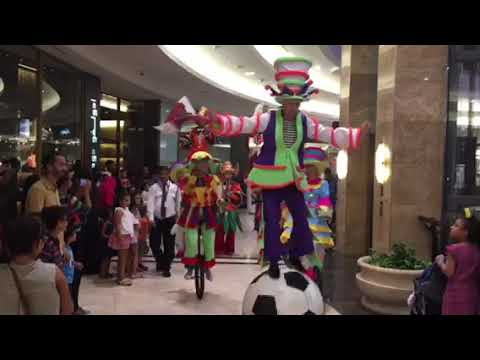 Qatar Doha Music Parade in Mall