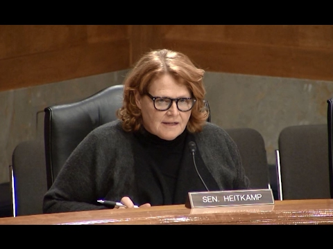 At Senate Committee Hearing, Heitkamp Discusses Waste, Fraud, and Abuse in the Federal Government