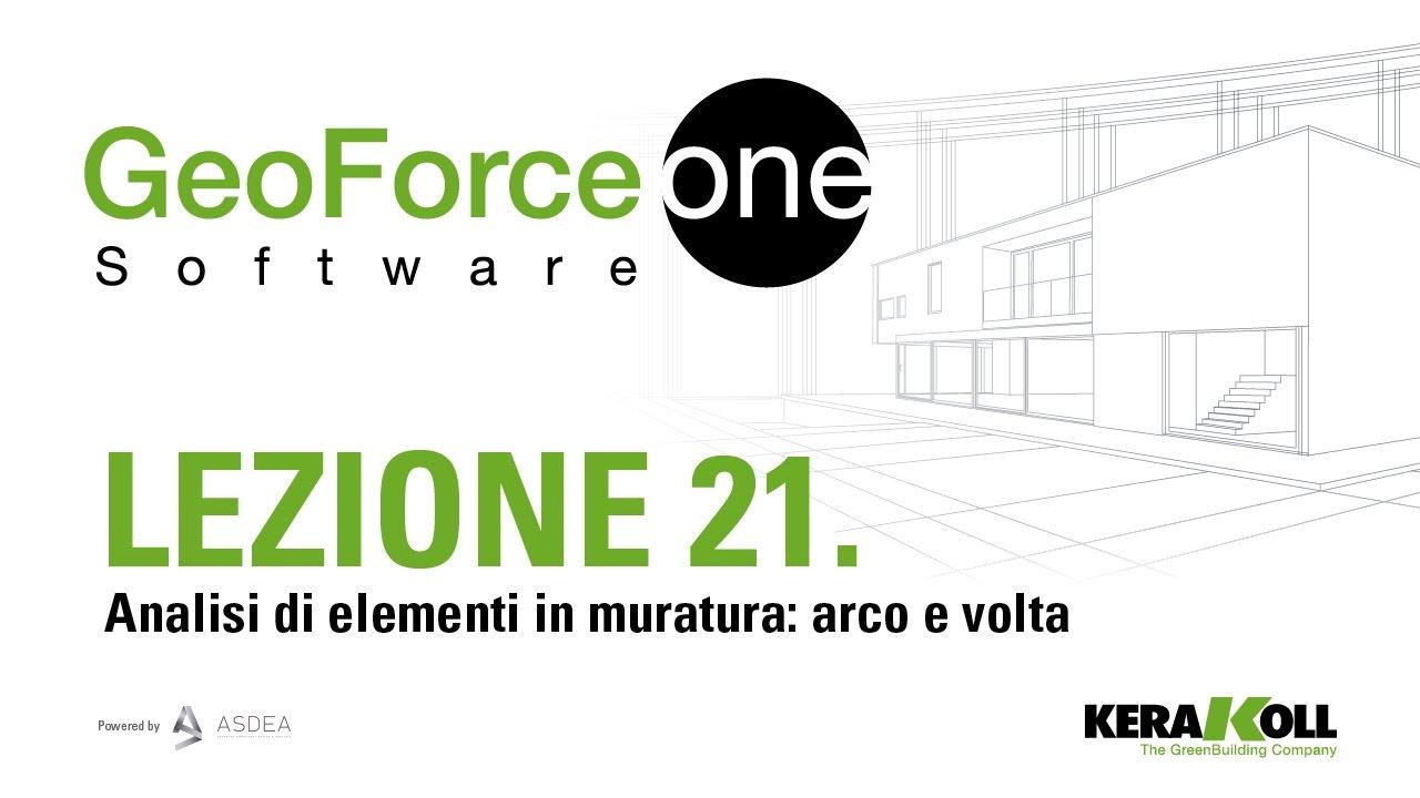 Arco In Muratura Calcolo.Tutorial 21 Analisi Di Elementi In Muratura Arco E Volta